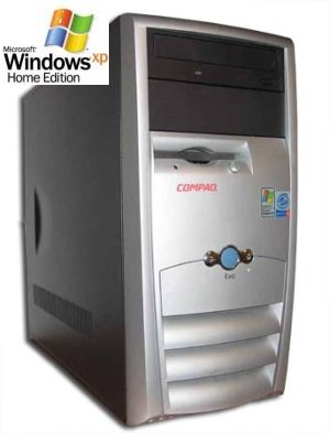 PC COMPAQ EVO 310 WIN XP Home COA